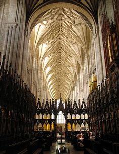 On this day 8th April, 1093, The new Winchester Cathedral in Hampshire, England was dedicated. The grade I listed cathedral is one of the largest cathedrals in England, with the longest nave and overall length of any Gothic cathedral in Europe