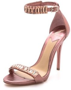 Brian Atwood Ciara Jeweled Sandals on shopstyle.com