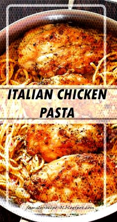 #beembloocom #italian #chicken #pasta ITALIAN CHICKEN PASTA | You can find Italian chicken breast and more on our website.ITALIAN CHICKEN PASTA | Italian Chicken Breast, Italian Chicken Pasta, Italian Chicken Recipes, Chicken Parmesan Recipes, Grilled Chicken Recipes, Grilled Italian Chicken, Dinner Dishes, Pasta Dishes, Crockpot Recipes