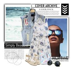 """ROMWE 8/III"" by amina-haskic ❤ liked on Polyvore featuring Le Specs and romwe"
