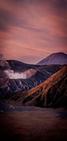 Mount Bromo at Sunrise in Indonesia