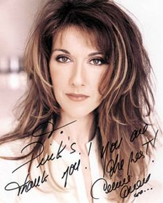 Celine Dion, such a beauty