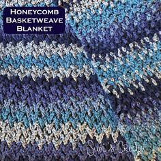 Suvi's Crochet: Honeycomb Basketweave Blanket