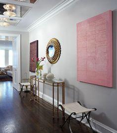 Niermann Weeks Cartouche Console Looks Stunning In This Hallway Designed By  Melanie Elston. Niermannweeks.