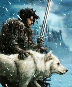 Jon y Fantasma