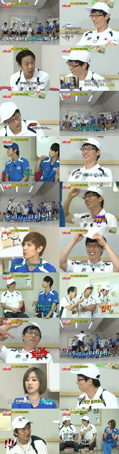 Idol members request gifts from MC Yoo Jae Suk on 'Running Man', that was a funny scene! Running Man Korean, Ji Hyo Running Man, Korean Tv Shows, Korean Variety Shows, Yoo Jae Suk, Funny Scenes, Happy Together, Family Outing, Best Shows Ever