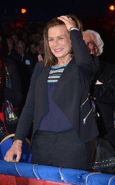 Princess Stephanie of Monaco attends the 38th International Circus Festival  on 16.01.14 in Monte-Carlo, Monaco.