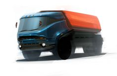 Some truck concept, looks Russian.