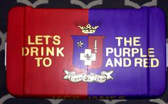 Sigma phi epsilon cooler sigep crest purple and red quote formal Nashville