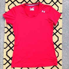 Under Armor Tee Crew neck. Red. I do not trade. Under Armour Tops