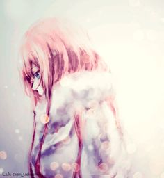 Beautiful anime girl with blonde hair | Anime Art