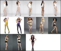 model pose - Tìm với Google