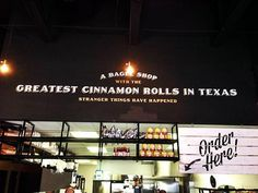 Greatest cinnamon rolls in Texas at Royal's Bagels! See what Denton blogger Scott Campbell thinks of the new hangout in town.