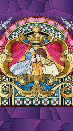 By Artist Unknown. Disney Dream, Cute Disney, Disney Girls, Disney Magic, Disney Princess, Cinderella Wallpaper, Disney Wallpaper, Walt Disney Characters, Disney Pixar
