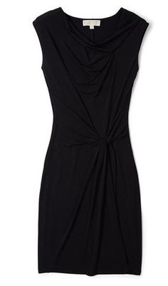 Michael Kors  Heavy jersey knot twist shift dress  £170