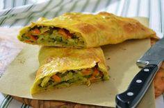 STRUDEL DI VERDURE La ricetta dello strudel di verdure è facile e sfiziosa. Lo…