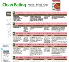 Check out these FREE meal plans!!They've given me plenty of ideas and I've just tailored my own meal plan to suit me.Clean eating is the way to go! Click on the photo to go to the link which has seasonal meal plans!