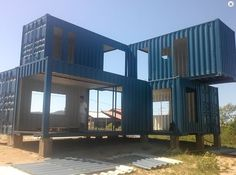 Build a Container Home Container Shop, Cargo Container Homes, Building A Container Home, Storage Container Homes, Container House Design, Container Office, Shipping Container Buildings, Shipping Container Home Designs, Shipping Containers