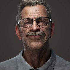[image] Title: CG JK Simmons as James Gordon (interpretation) Name: Nduc This is a personal project I made. The goal was to try a fast workflow using less softwares as possible. Only Zbrush for sculpting, details and… Character Modeling, Character Art, Character Design, 3d Modeling, Character Portraits, Cthulhu, Jk Simmons, Jae Lee, 3d Portrait