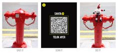 A Scan-dalous (at least in squeaky clean Singapore) project using QR codes.