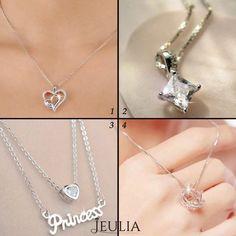 Which do you lobe best ? #jeulia #necklace #fashionjewelry.