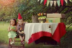 Vintage Woodland Party....mushrooms, deer and gnomes