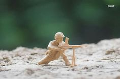 Miniature Photography of soldier