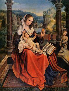Bernaert van Orley - Virgin and Child