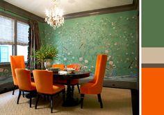 St Patricks Green and Orange Inspiration