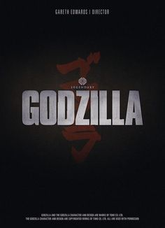 Teaser póster de #Godzilla de Gareth Edwards #SDCC