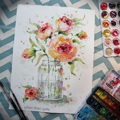 Nature-Inspired Watercolor Paintings By Sillier Than Sally