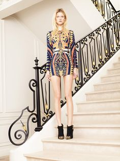 Balmain Resort 2012 - Review - Fashion Week - Runway, Fashion Shows and Collections - Vogue