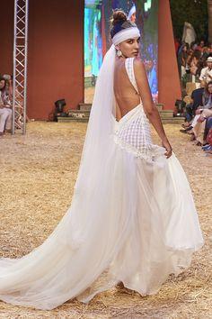 Vestido boho chic |||| #wedding #novias #bridal #bohochi #vintagewedding #vintage