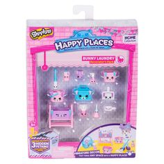 Happy Places Shopkins Decorator Pack - Bunny Laundry