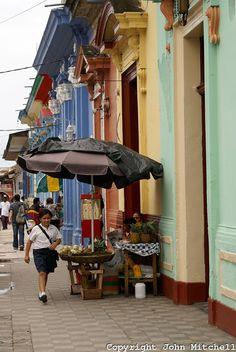 Granada, Nicaragua... Prettiest city I've ever seen... But Nicaraguans aren't the most friendly bunch.
