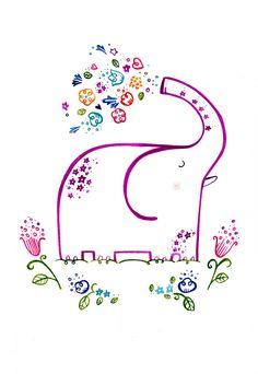 Happy Elephant !   Client : Pictura   Wetpaint Design & Illustration   Flickr
