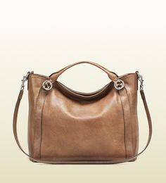 miss GG leather top handle bag