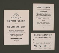 Invite · Wedding Invitation InsertsGrey ...