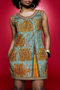 Wax Dress from Mansaya: