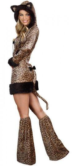 Cheetah Costume - Plus Size Costumes