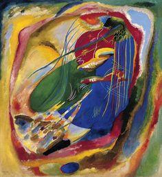 253 Kandinsky llegó a la abstracción sin pasar por el cubismo. Soñaba con una música de los colores... #Thyssen140 pic.twitter.com/OOtsoKL5Yh