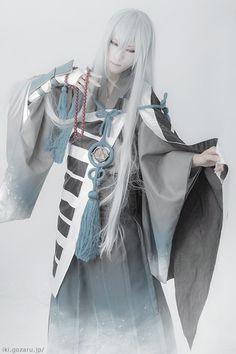Touken rabu Kousetsu Samonji cosplayer Mayu(繭) KousetsuSamonji Cosplay Photo - WorldCosplay
