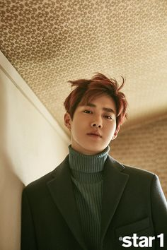 Suho (EXO) - @Star1 Magazine January Issue '17