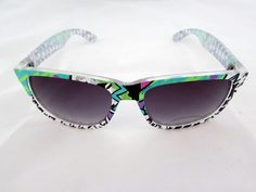Party rock wayfarer $14.00. All orders come with free shipping and a free micro fiber bag.