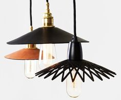 Leibal Hide Leather lights