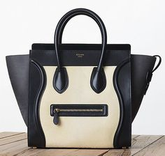 Celine Leather and Calf Hair Luggage Tote Fall 2013 :: my new obsession