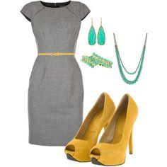 I {love} grey & yellow.