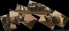 'Do I look fat?' Curiosity rover checks its belly on Mars (Photo: NASA / JPL-Caltech / MSSS / Ken Kremer / Marco Di Lorenzo)