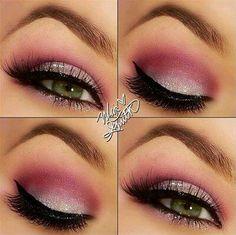#pink #makeup #eyemakeup