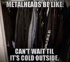 I can't wait for black winter days. I really can't.